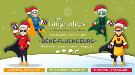 Aidez-nous à convertir 600 « BÉNÉ-FLUENCEURS » pour les Guignolées !
